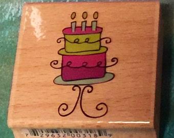 Super Cute Doodle Cake Stamp