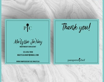 Items similar to Pampered Chef Business Card on Etsy