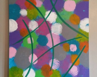"""New Huge abstract painting available! 36""""×48"""""""