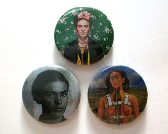 Frida Kahlo Pin Button Badges