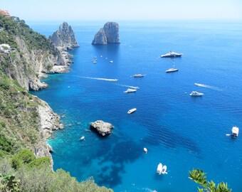 Faraglioni Rocks (Capri, Italy)