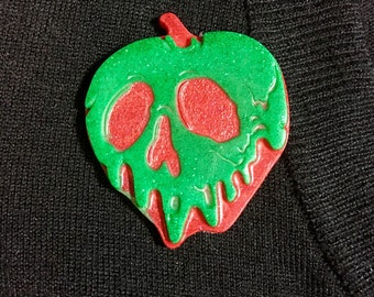 Poison Apple Snow White Disney Inspired Pinup Brooch