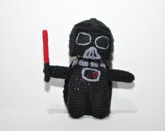Darth Vader / amigurumi Darth Vader / crochet Darth Vader / star wars toy