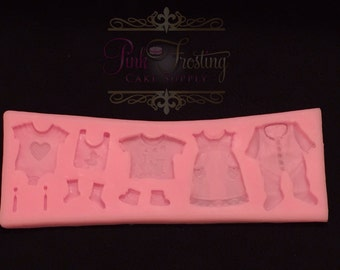 Baby Clothes Silicone Mold