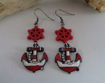 Sailer, Rockabilly earrings