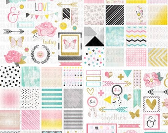 Amy Digital / Printable Full Scrapbooking Kit
