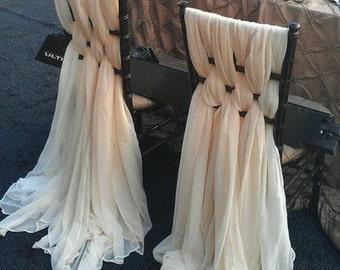 Wedding/Special Event Chair Drape