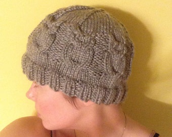 Wise Owl Knit Hat