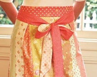 Fig Tree Threads, Spring Cleaning Apron pattern, jelly roll pattern