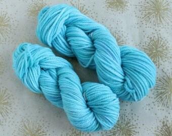 Alpaca and Merino aran/worsted weight yarn in the new shade Rapture