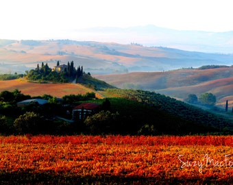 The Belvedere House, Val D'Orcia Italy