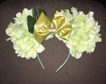 Floral Princess Tiana themed Disney ears