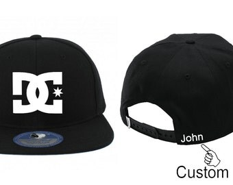 DC hat with custom name