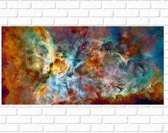 Carina Nebula - High Resolution - HD - Photo - Panorama - Photograph - NASA - Print - Photography - Space - Outerspace - Nebula - Galaxy