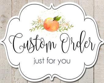 Custom Order Birthday Banner