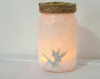 Glitter Fairy Jar