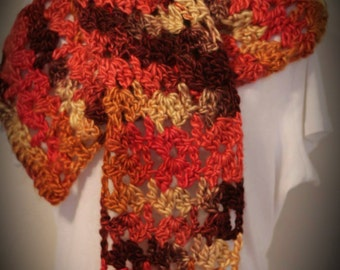 Shades of Autumn scarf