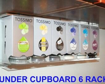 Tassimo 6 Box/48 Disk holder - UK Made - Perspex
