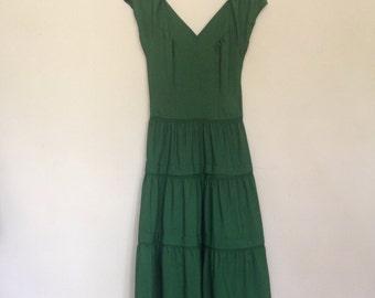 1940s Emerald City Dress xsmall