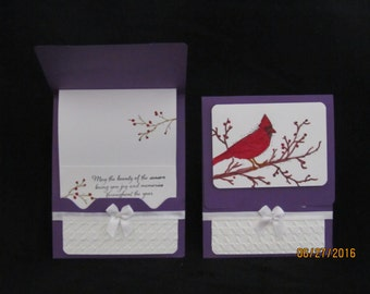 Holiday Card - Gift card/ Money Holder