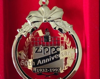 SALE Vintage Zippo Christmas 1992  Ornament Rep Gift-- New, In Box