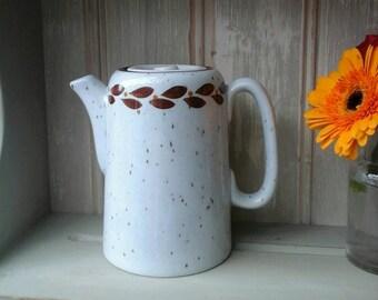 Vintage coffee pot,Sampson Bridgwood,vintage teapot,small coffee pot,vintage kitchenware,Stansdale tableware,vintage,retro coffee pot,retro
