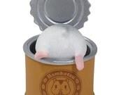 FREE shipping worldwide. Hamster Figurine Grey