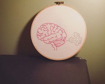 Brain Fart Embroidery