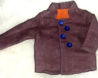Linen Coat for Boys.
