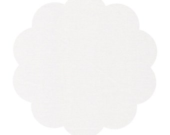 Limestone/white cirrus solids fabric. Organic sewing fabric. Apparel/ quilt cotton fabric. DIY sewing cotton fabric. Neutral sewing fabric.