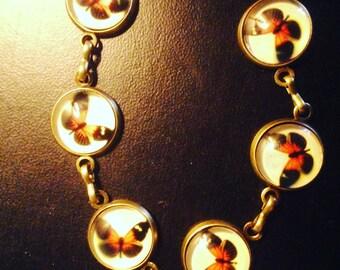 "Bracelet vintage ""butterflies"""