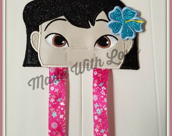 Girls accessories, Girls Hair Bow Holder, Lilo, Hair Bow, accessories for Girls, Bows Holder for Girls, Holder for bows,