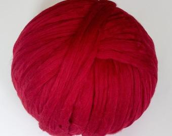 Merino Wool Yarn, Chunky knits, Unspun Wool Roving, Merino Wool, Chunky Yarn, DIY, Chunky Blanket, Unspun wool, arm knit blanket