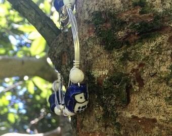 Owl wired bracelet