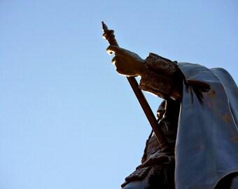 Entitled Statue