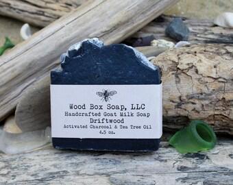 Charcoal Soap. Soap. Charcoal Tea Tree Soap. Bar Soap. Goat Milk Soap.