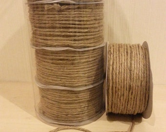 Free shipping!!! Brown rope hemp cord,cord ribbon bow hemp wine-flax craft string,hang tag string,gift wrapping,craft supplier