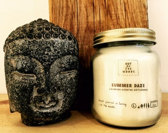 Summer Daze Wood Wick Soy Candle