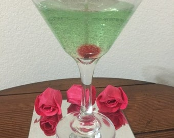 Scented Martini Gel Candle
