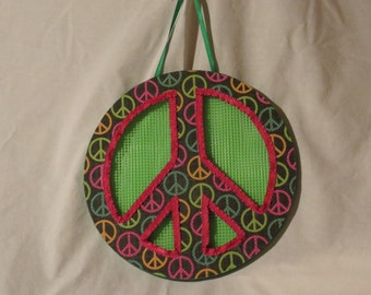Peace sign wall signs decoration