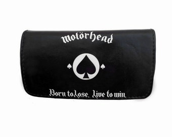 Motorhead Faux Leather Tobacco Pouch