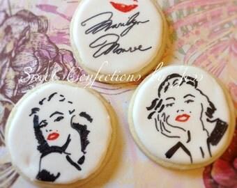 Marilyn Monroe cookies