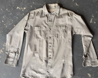 Worn + Faded Gas Attendant's Shirt