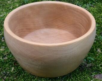 Natural Yellow Birch Bowl