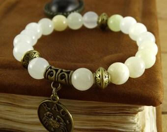 Zodiac Jewelry Onyx Bracelet Horoscope Jewelry Gemstone Bracelet Astrology Jewelry Energy Bracelet Healing Stones Zodiac Bracelet Amulet