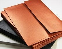50 - A7 Square Flap Metallic Envelopes