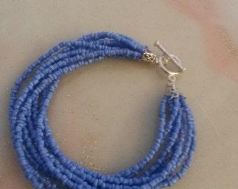 glass seed bead bracelet