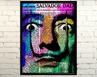 Salvador Dali poster Banner painting image, Salvador Dali Photo