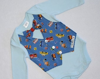 Boys Onesie and Vest with Bowtie, Boys Bodysuit & Vest with Bowtie, Boys Vest with Bowtie, Baby Boy Outfit, Baby Boy Clothes, Baby Bodysuit