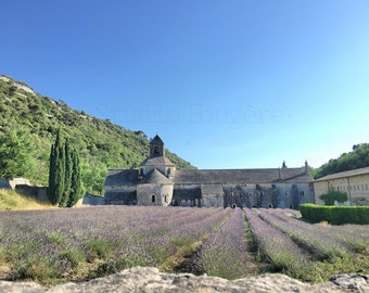 Senanque Abbey France | Lavender Field | Provence Lavender | French Abbey Photo | Antique Abbey Photo | French Lavender Photo | Travel Photo